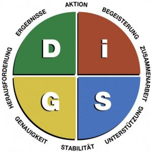 Everything DiSG Workplace-Diagramm
